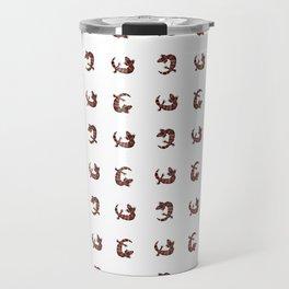 Gila Monster Pattern Travel Mug