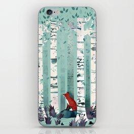The Birches iPhone Skin