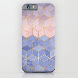 Rose Quartz & Serenity Cubes iPhone Case