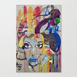 Scary Posh Spice Canvas Print
