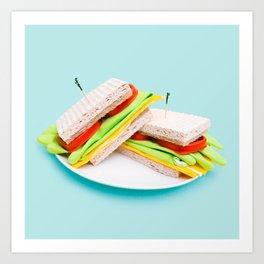 Kitchen Sandwich  Art Print
