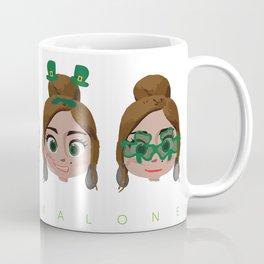 Faces of Molly Malone Coffee Mug