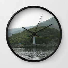 Lighthouse of Solitude Wall Clock