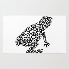 Frog with frogs Rug