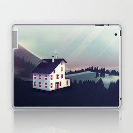 Castle in the Mountains Laptop & iPad Skin