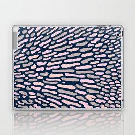 Organic Abstract Navy Blue Laptop & iPad Skin