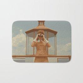 Moonrise Kingdom Lighthouse Bath Mat