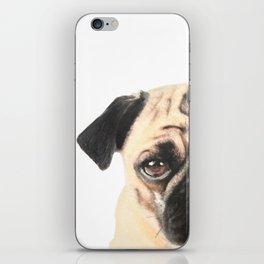Pugging Love iPhone Skin