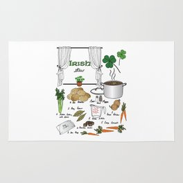 Irish Stew Rug