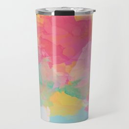 RAINBOW SPLATTER LAYERS Travel Mug