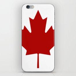 Canadian Flag iPhone Skin