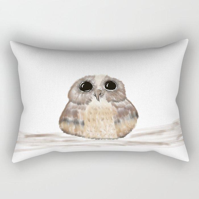 Sweet owl Rectangular Pillow
