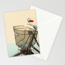 Vintage Bike in Kolkata  Stationery Cards