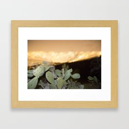 View from Mulholland Drive Framed Art Print