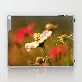 Flowers in the Rain Laptop & iPad Skin
