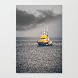 RNLI Lifeboat Canvas Print