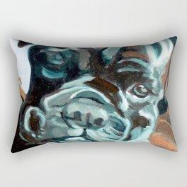 Smokey the Boxer Dog Rectangular Pillow