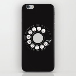 Rotary Me iPhone Skin