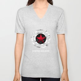 Winter Soldier Unisex V-Neck