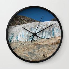 Glacier 1 Wall Clock