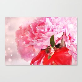 Pretty Pink Peonies :) Canvas Print