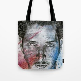 Pretty Noose: Red & Blue Tote Bag