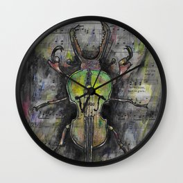 Sound of Nature 2 Wall Clock