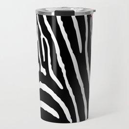Orange Zebra Travel Mug