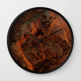 Undead Monstrosity - Horror Art Wall Clock