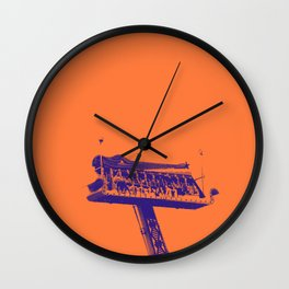 Sky Throne Wall Clock