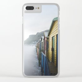 South African Beach Days Clear iPhone Case