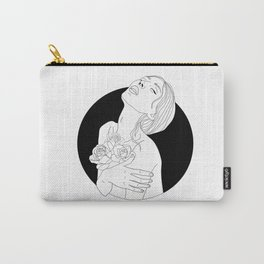 flowers are in her soul Carry-All Pouch