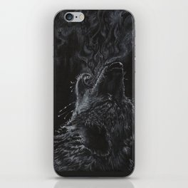 Wolf - The Uneasy Chill iPhone Skin