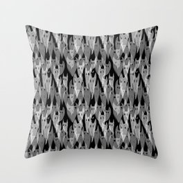 Rising Ghosts Throw Pillow