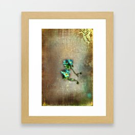 Di sangue blu Framed Art Print