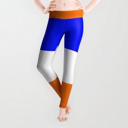 TEAM COLORS 8.....Orange, blue white Leggings