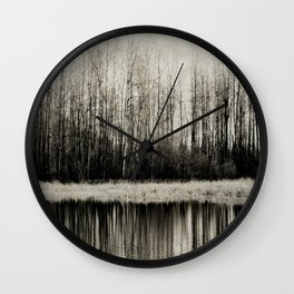 Solitude Revisited Wall Clock