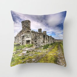 Quarry houses Throw Pillow