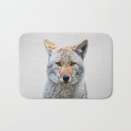 Coyote - Colorful Bath Mat