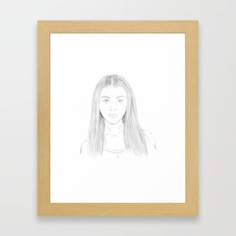 Dawn from Buffy the Vampire Slayer Framed Art Print