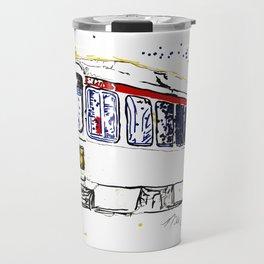 Septa Trolley Art: Philly Public Transportation Travel Mug