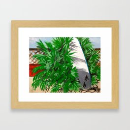 Close to the Beach Framed Art Print