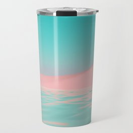 Palm Tree Oasis Travel Mug