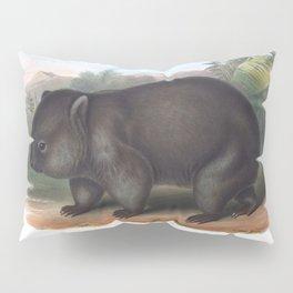Wombat in the nature of Australia Pillow Sham