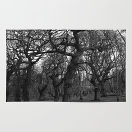 Oak Trees on the March Rug