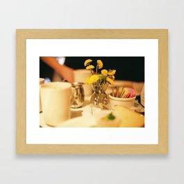 Sunday Brunch Framed Art Print