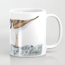 Killdeer Art 1 by Teresa Thompson Coffee Mug
