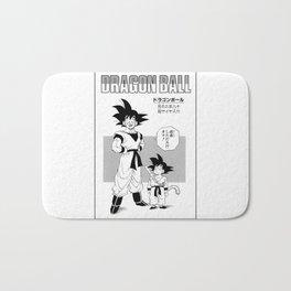 DBZ - Manga 1 Bath Mat