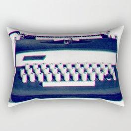typing Rectangular Pillow