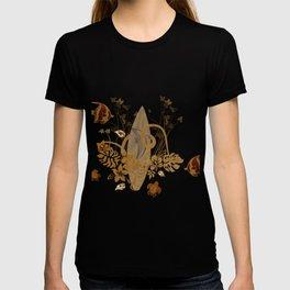 Hawaiian, tropical design T-shirt